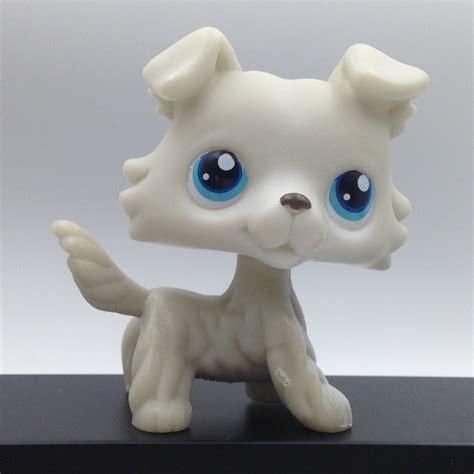 littlest pet shop puppy littlest pet shop tricks n talent show circus collie 237 frisbee trophy what s it worth