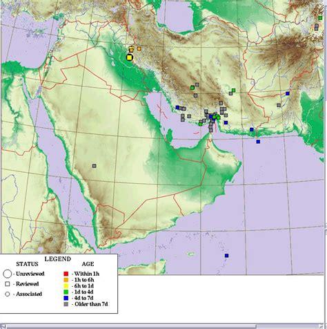 middle east earthquake map no impact on dubai towers from iran iraq quake culture