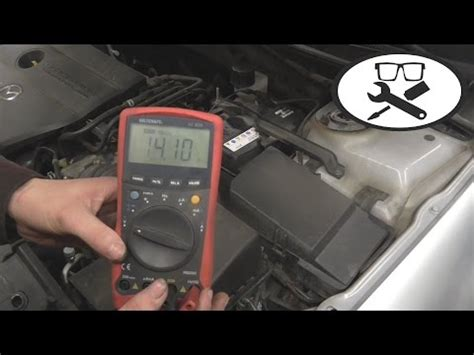 Motorrad Batterie Messen Mit Multimeter by Batterie Drehstromgenerator Lichtmaschine Pr 252 Fen Lade