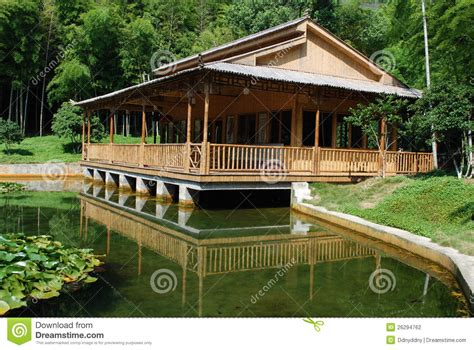 bamboo houses bamboo house stock photography image 26294762