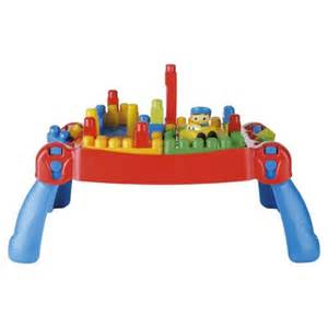 Mega Bloks Table Buy Mega Bloks First Builders Build N Learn Table From Our