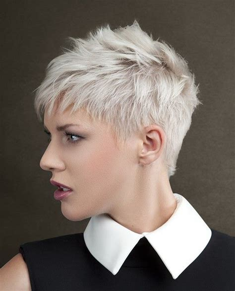 haircuts for white hair 17 best ideas about short white hair on pinterest short