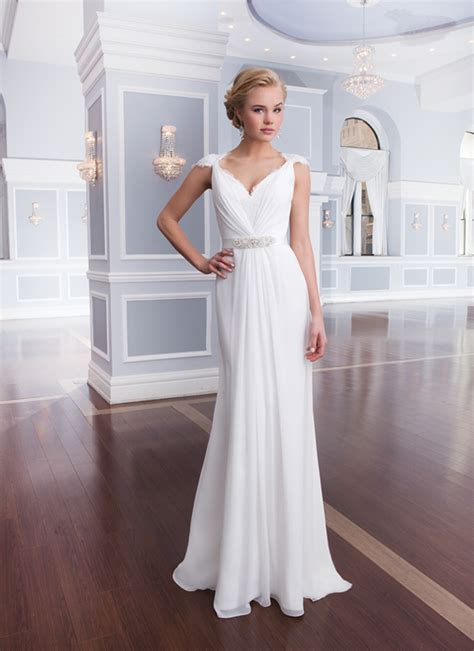 Wst 13602 White Formal Dress casual wedding dresses dressed up