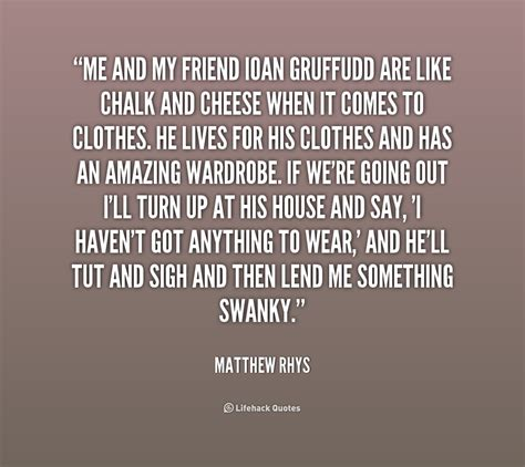 matthew rhys you are my friend matthew rhys quotes quotesgram
