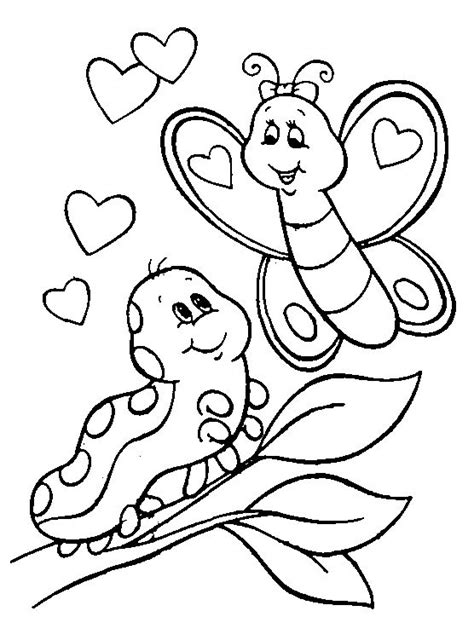 coloring pages of butterflies and caterpillars 17 best images about sheets valentines coloring