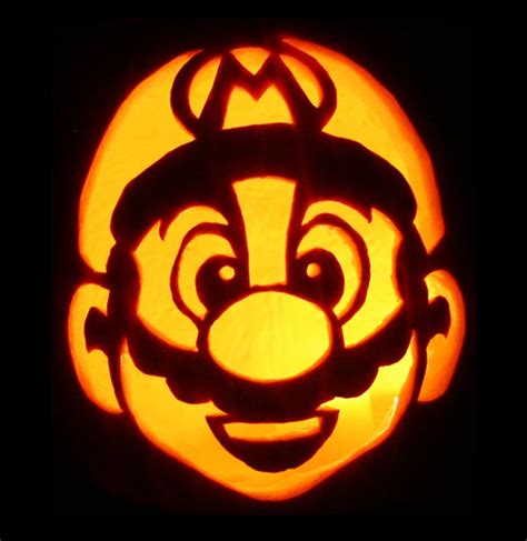 mario brothers pumpkin carving template 20 free scary yet creative pumpkin carving ideas