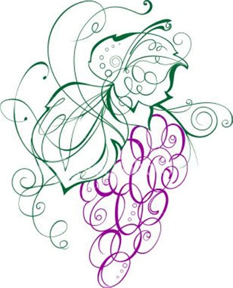 grape tattoo designs grapes line drawing painting for positive thinking