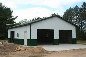 Garage Building Ideas pole barn garage my 30x40 pole barn garage pics the