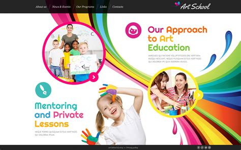 School Templates by School Website Template 46362