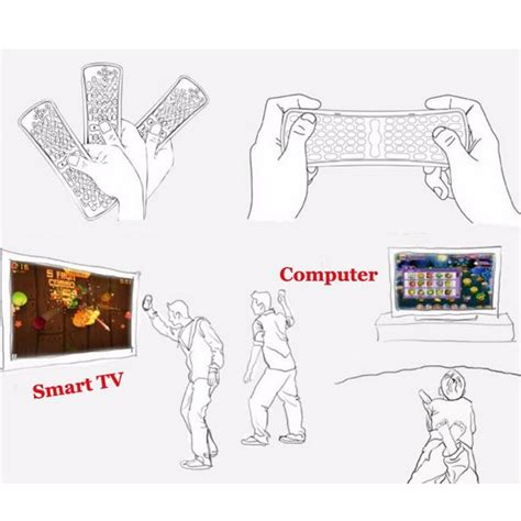 Gyroscope Air Mouse Keyboard 24ghz Wireless For Pc Smart Tv T3009 6 jual gyroscope air mouse keyboard 2 4ghz wireless for pc