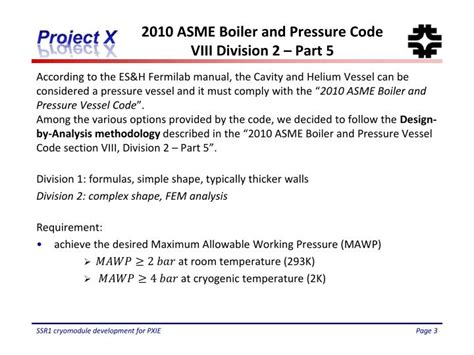 asme boiler and pressure vessel code section viii ppt asme design on ssr1 g3 powerpoint presentation id