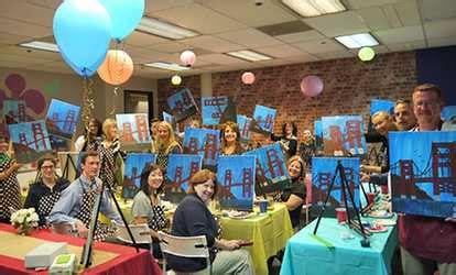 groupon paint nite fremont things to do in fremont deals on activities in fremont