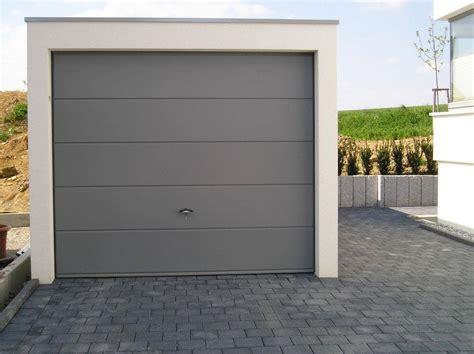 kemmler garagen einzelgarage als beton fertiggarage
