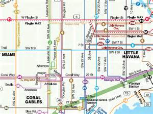 Miami Bus Map by Critical Miami How To Ride Public Transportation To Work