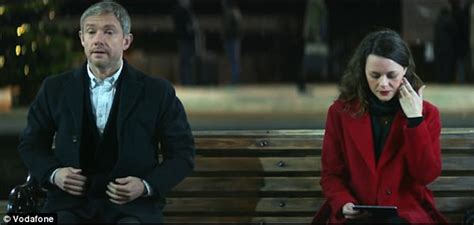 whos the star in the cadilac adds martin freeman stars in vodafone christmas advert daily