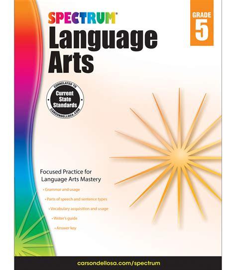 libro spectrum 1 workbook spectrum language arts workbook grade 5 carson dellosa publishing