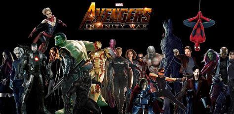 imagenes de los vengadores en hd para pc los vengadores 3 infinity war llegar 225 n personajes nunca