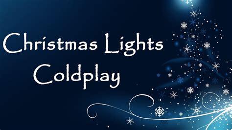 coldplay christmas coldplay christmas lights cover hq youtube