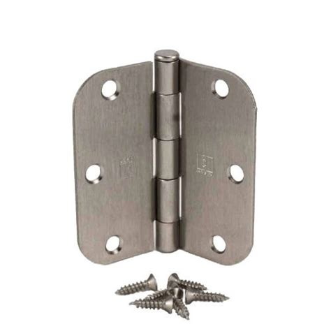 Hager Door Hinges by Pack Of 18 Hager 3 1 2 Inch Satin Nickel Door Hinges