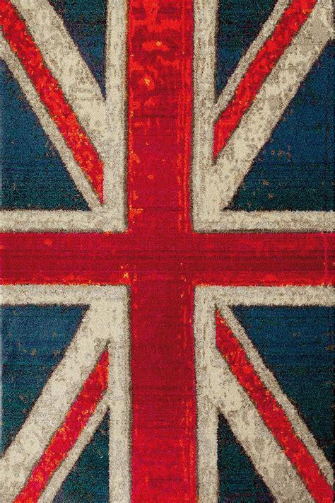 tappeto in inglese flags tappeto moderno con motivo bandiera americana o