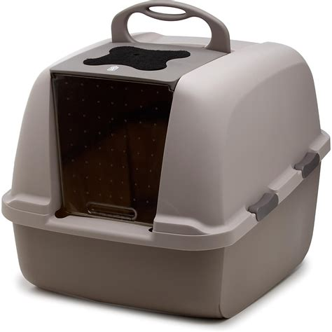 litter box a catit hooded cat litter box petco