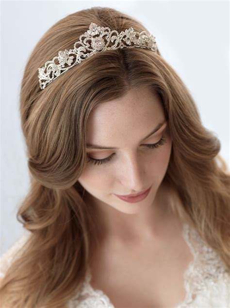 Crown Elizabeth Tiara Wedding Hair Import elizabeth rhinestone crown shop bridal tiaras usabride