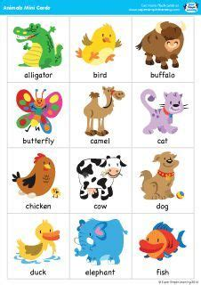 printable animal flashcards for toddlers animal charades for kids free printable charades game