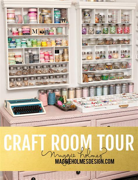craft room tours craft room tour gt gt part one maggie design