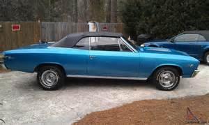 1967 chevelle malibu convertible ss clone classic car