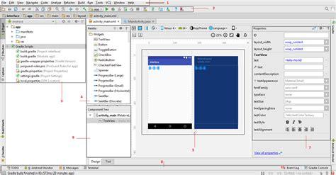 berikut ini adalah aplikasi layout kecuali interface dan struktur folder project android studio