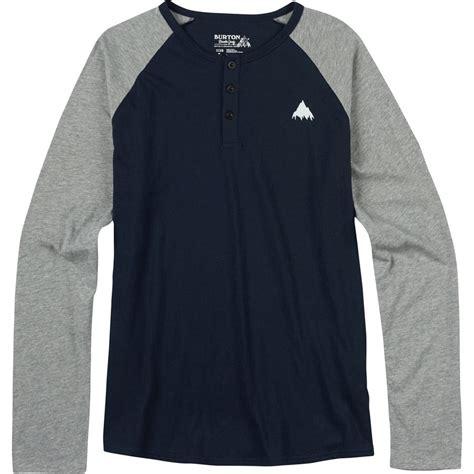 Burton Lurker Slimfit T Shirt by Burton Lifty Henley Slim Fit T Shirt S Backcountry