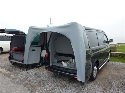 vw t5 tailgate awning rear canopy awnining over barn doors page 4 vw t4