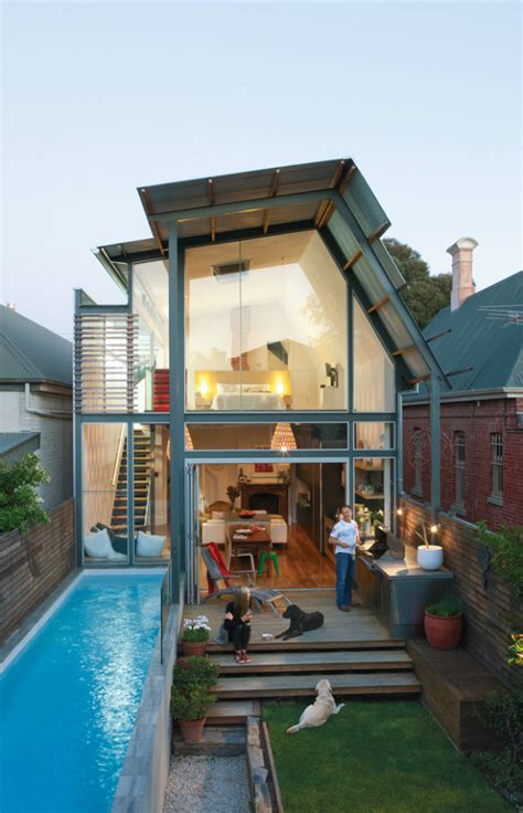 amazing tiny homes dream house with amazing small pool in australia decoholic