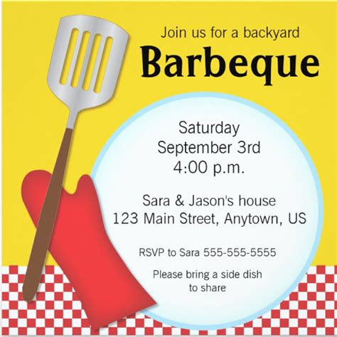 barbecue invite template birthday braai invitation cards templates invacation1st org