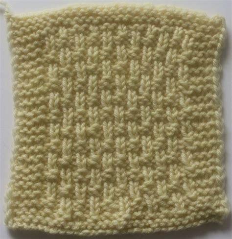 basketweave knitting pattern single basketweave stitch pattern allfreeknitting