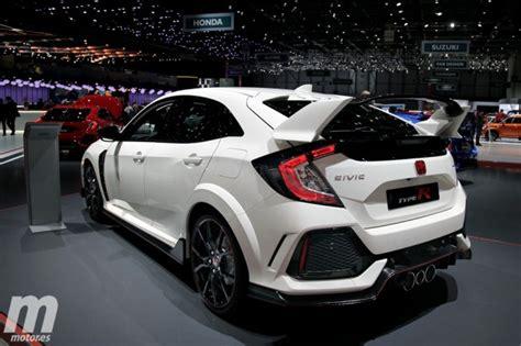 Hår 2017 by Honda Civic Type R 2017 Se Desvela La Nueva Generaci 243 N