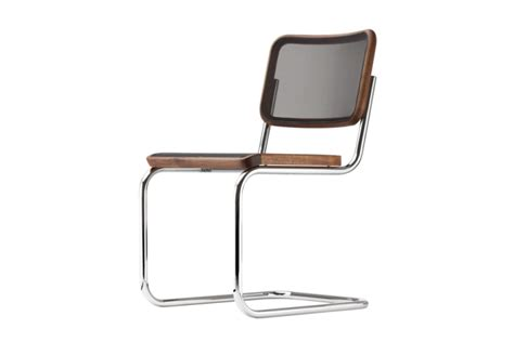 stuhl nussbaum timeless the tubular steel cantilever chairs s 32