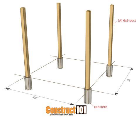 build pergola plans simple diy pergola plans construct101