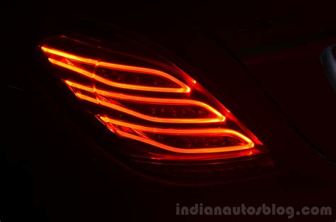 S Light by 2014 Mercedes S Class Review Led Taillights