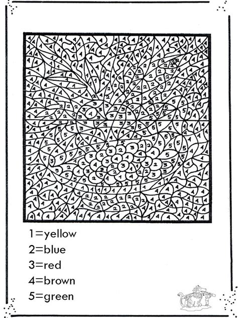 Complex Coloring Pages For Complex Color By Number Coloring Pages Coloring Page by Complex Coloring Pages For