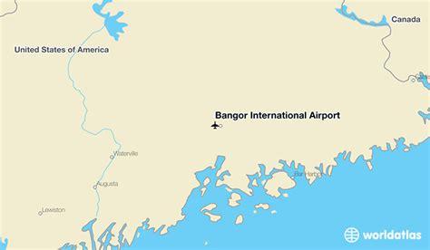 China Light Bangor Maine by Bangor International Airport Bgr Worldatlas
