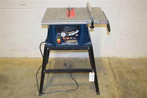 10 portable table saw ryobi rts10 10 quot portable table saw the equipment hub