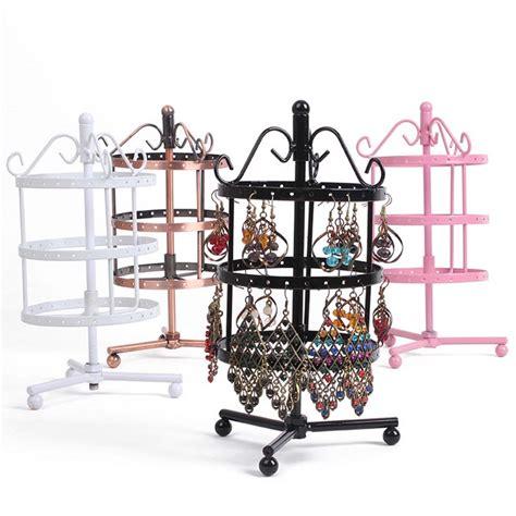 accessories stylish multi tier planter the big list of self fashion three tier metal rotating earring display jewelry
