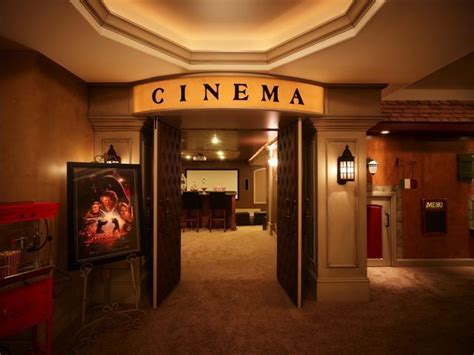 home theater entrance media room home theater decor