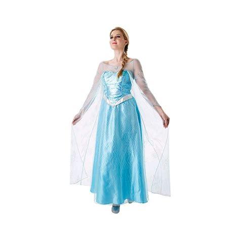 disfraz de frozem reciclable disfraz elsa frozen adulto barullo com