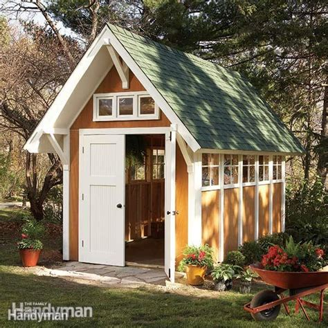 Family Handyman Shed by Garden Shed Illustrations And Materials List The Family