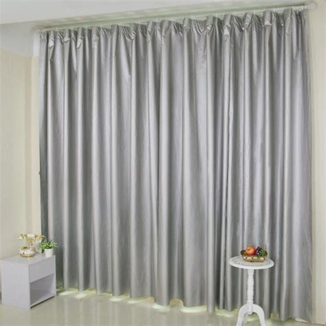 studio curtains curtains for living room double silver all shading