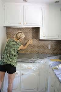 paint ceramic tile backsplash how to paint a tile backsplash a beautiful mess
