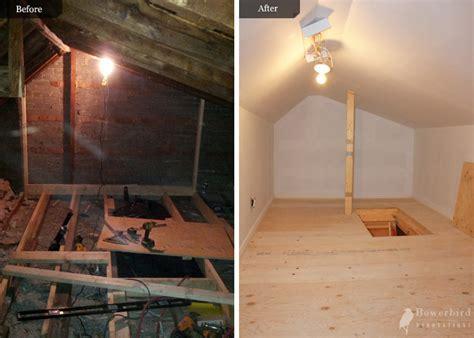 Attic conversion to storage by Bowerbird renovations   BOWERBIRD Renovations