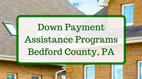 payment assistance programs bedford county pa dpa